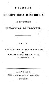 Diodori Bibliotheca historica: Volume 5