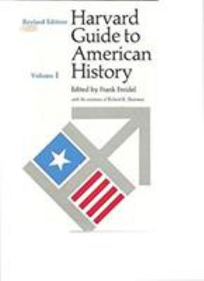 Download Harvard Guide to American History Book