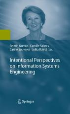Intentional Perspectives on Information Systems Engineering PDF