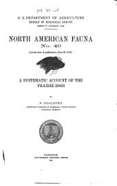 A Systematic Account of the Prairie-dogs