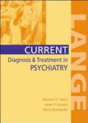 Current Diagnosis and Treatment in Psychiatry PDF