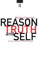 Reason  Truth and Self PDF