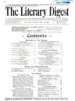 The Literary Digest PDF