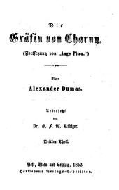 Die Grafin von Charny