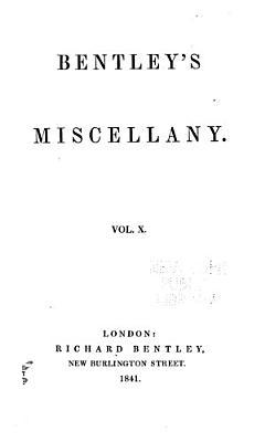 Bentley s Miscellany