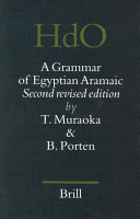 A Grammar of Egyptian Aramaic PDF