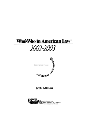 Who's Who in American Law