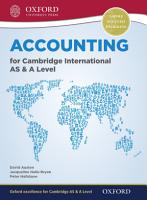 Accounting for Cambridge International AS and A Level PDF