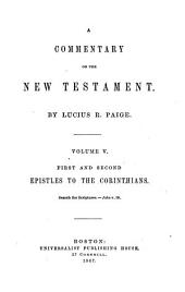 A Commentary on the New Testament: Volume 5