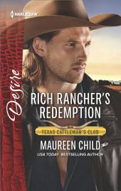 Rich Rancher's Redemption: A Sexy Western Contemporary Romance