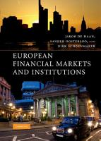 European Financial Markets and Institutions PDF