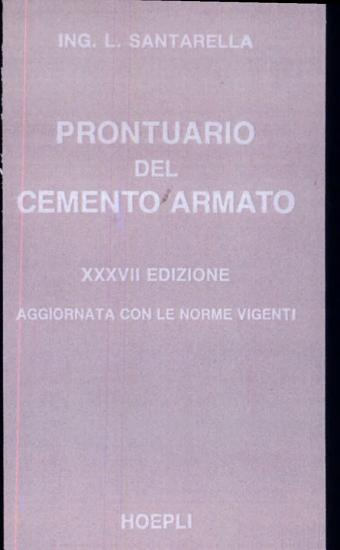 Prontuario del cemento armato PDF