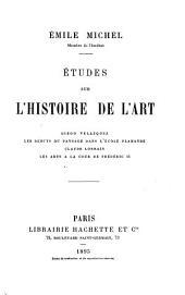 Études sur l'histoire de l'art