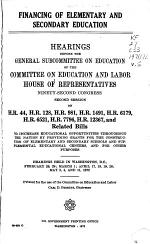 Hearings, Reports, Public Laws