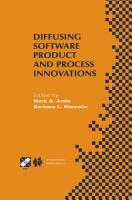 Diffusing Software Product and Process Innovations PDF