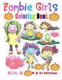 Zombie Girls Coloring Book