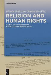 Religion and Human Rights: Global Challenges from Intercultural Perspectives