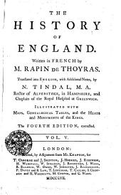 The History Of England: Vol. V.