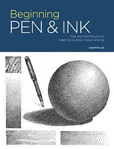 Portfolio  Beginning Pen   Ink