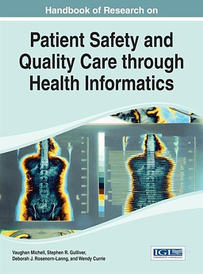 Handbook of Research on Patient Safety and Quality Care through Health Informatics PDF