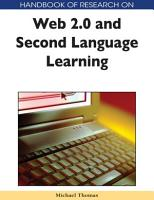 Handbook of Research on Web 2 0 and Second Language Learning PDF