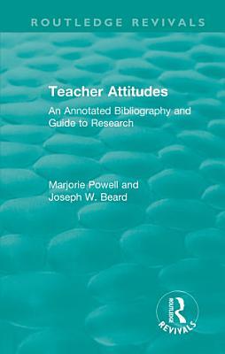Teacher Attitudes PDF
