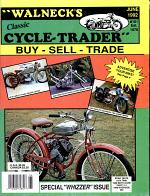 WALNECK'S CLASSIC CYCLE TRADER, JUNE 1992