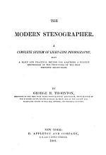 The Modern Stenographer