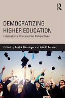 Democratizing Higher Education