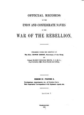 Official Records of the Union and Confederate Navies in the War of the Rebellion PDF
