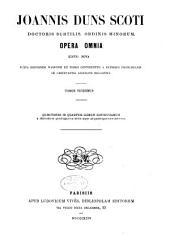 Opera omnia: Volume 20