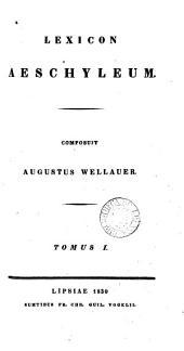 Lexicon Aeschyleum