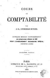 Cours de comptabilité: Ouvrage rédigé conformément aux programmes officiels de 1866 pour l'enseignement secondaire spécial (Première année)