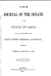 Journal of the Senate of the State of Ohio: Volume 81