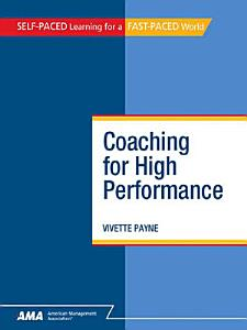 Coaching for High Performance Book
