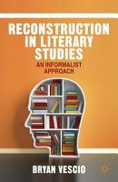 Reconstruction in Literary Studies PDF