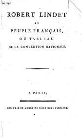 Robert Lindet au peuple français, ou tableau de la Convention Nationale