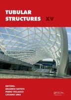 Tubular Structures XV PDF