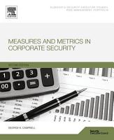Measures and Metrics in Corporate Security PDF