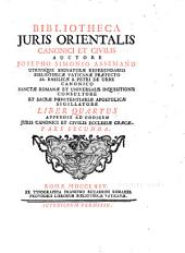 Bibliotheca Juris Orientalis Canonici et Civilis