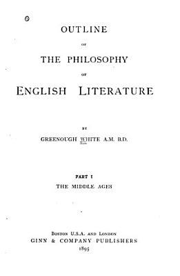 Outline of the Philosophy of English Literature PDF
