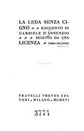La Leda senza cigno: racconto, seguito da una Licenza, Volume 2