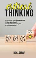 Critical Thinking PDF