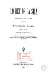 Lo Ret de la Sila: comedia en un acte y en vers...