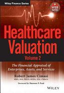Healthcare Valuation  Volume 2   Website