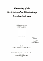 Proceedings of the ... Australian Wine Industry Technical Conference
