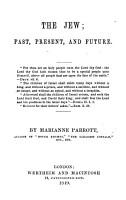 The Jew  Past  Present and Future PDF