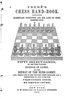 Frer   s Chess Hand book PDF