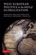 West European Politics in the Age of Globalization PDF