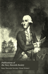 Publications of the Navy Records Society: Volume 3